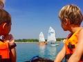 Lupa-tó, nyári gyerek Horizont Vitorlástábor 1.
