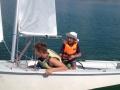 Lupa-tó, nyári gyerek Horizont Vitorlástábor 16.